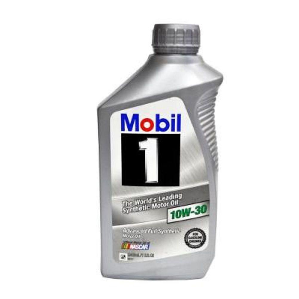 Mobil 32 oz 10w 30 synthetic motor oil 102992 the home for What motor oil do i need