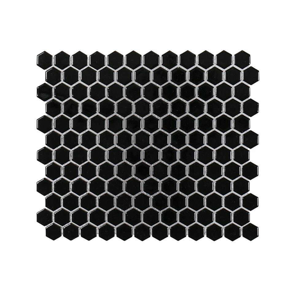 Black Out 10.125 in. x 11.625 in. x 6 mm Porcelain