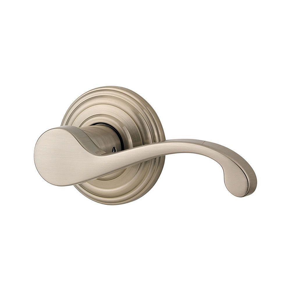 Commonwealth Satin Nickel Right-Handed Half-Dummy Lever
