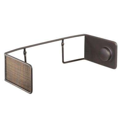 Twillo Wallmount Papertowel Holder in Bronze