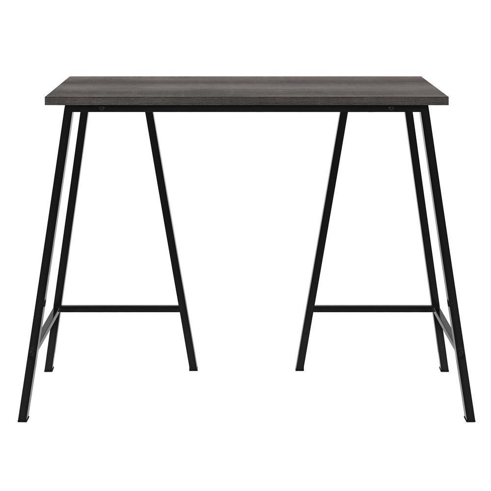 Ameriwood Home Fairvue Medium Brown Standing Desk