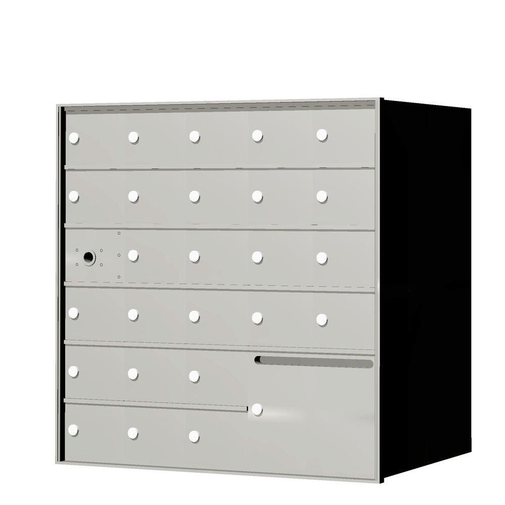 1,400 Series 25-Compartment Recess-Mount Horizontal Mailbox