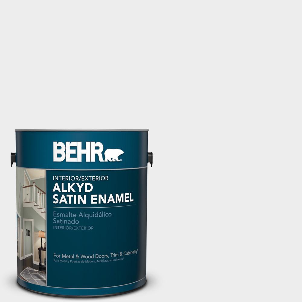 1 gal. #760E-1 Igloo Satin Enamel Alkyd Interior/Exterior Paint