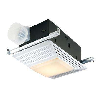1,300-Watt Recessed Convection Heater with Light in White