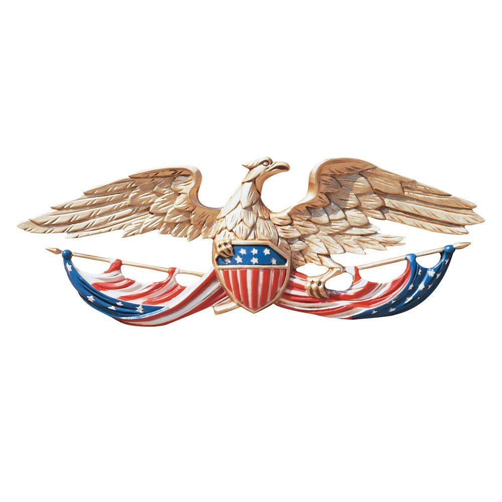 Whitehall Products 24 In Whitehall Color Patriotic Wall Eagle 00752
