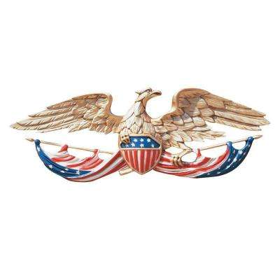 24 in. Whitehall Color Patriotic Wall Eagle