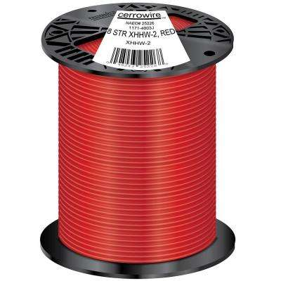 500 ft. 8/1 Stranded XHHW-2 Wire, Red
