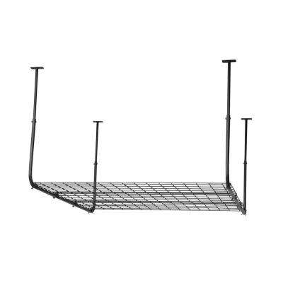 27 in. Steel Construction Ceiling Storage in Black