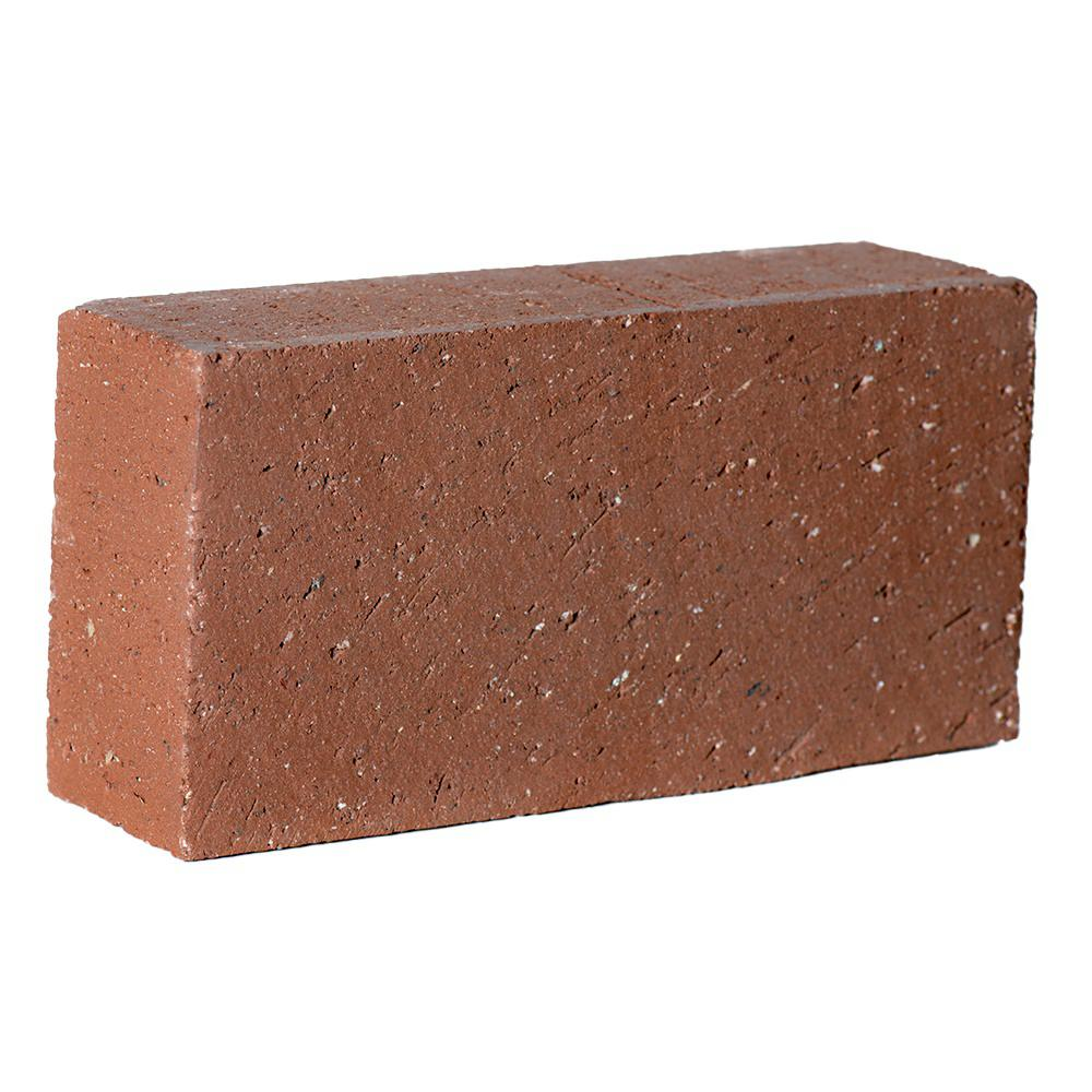 Unbranded 8 In X 2 1 4 In X 4 In Clay Brick Red0126mco The Home Depot