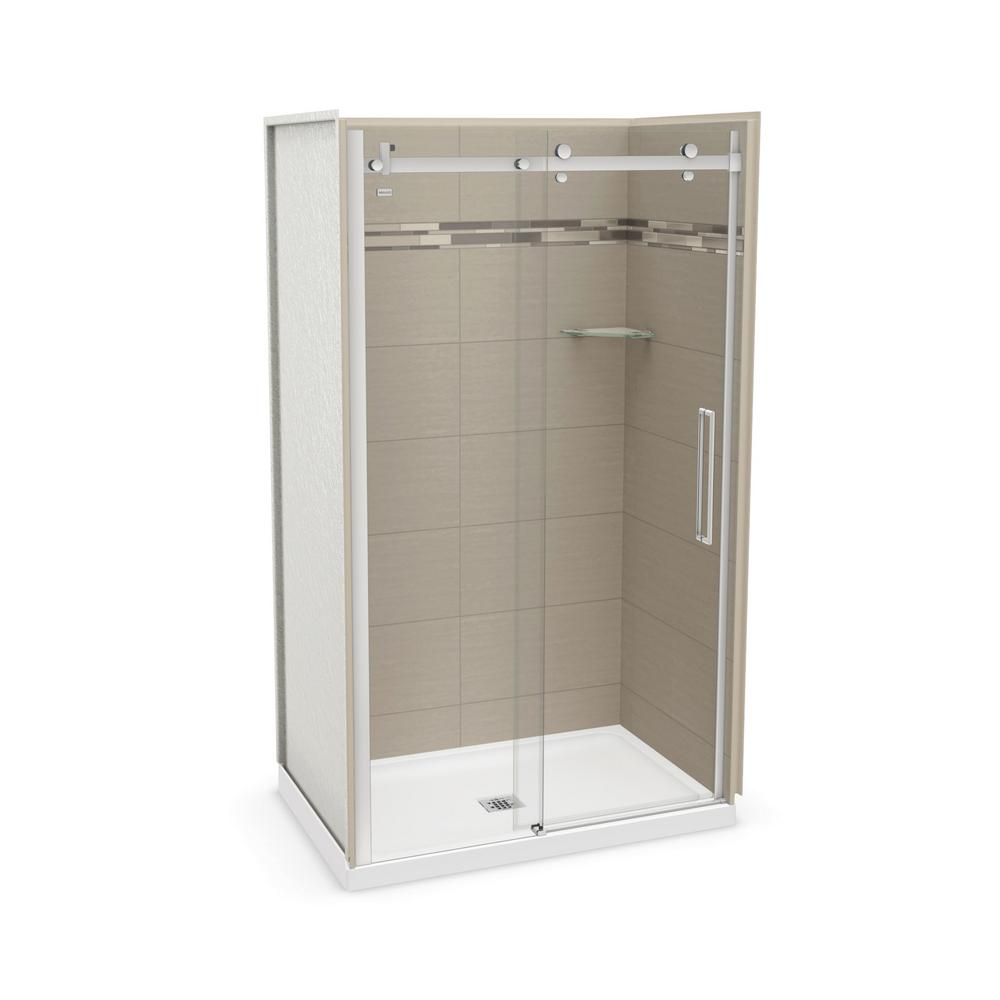 Utile by MAAX 32 in. x 48 in. x 83.5 in. Direct-to-Stud Alcove ...