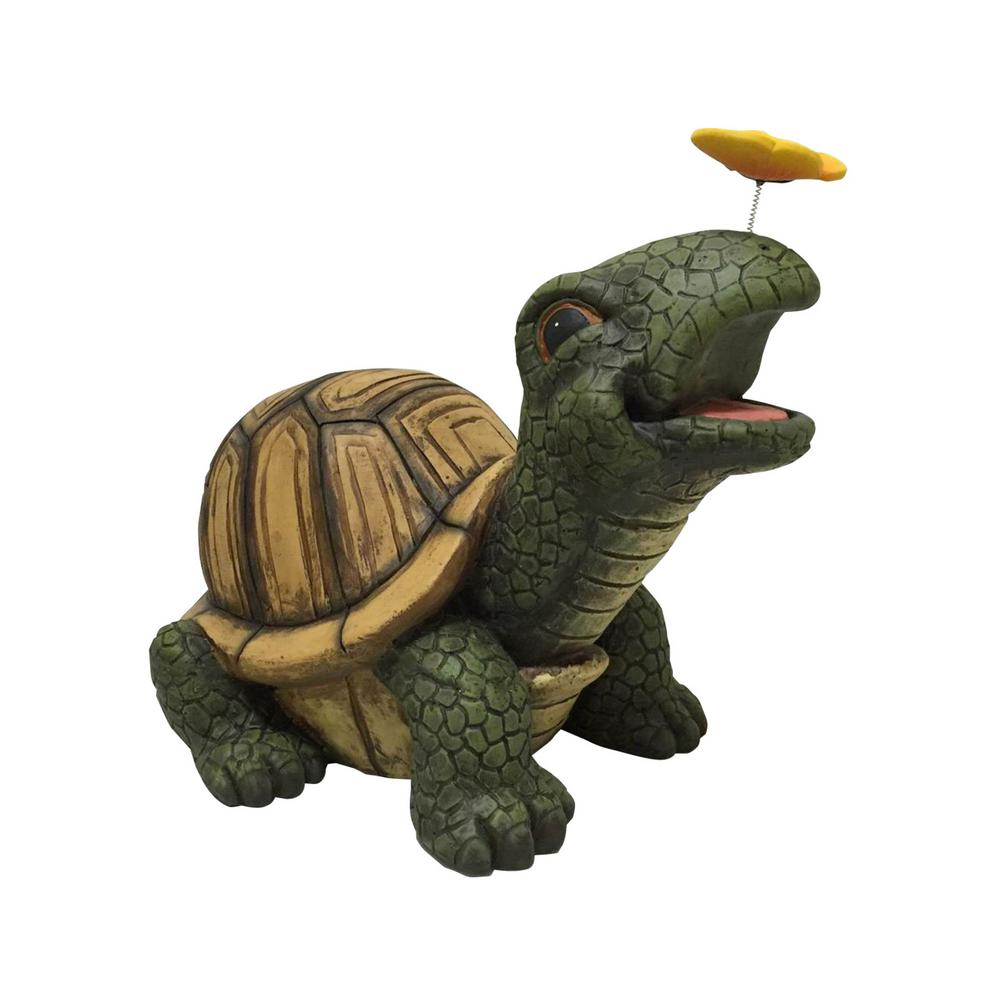 13.2 in. Large Turtle Statuary