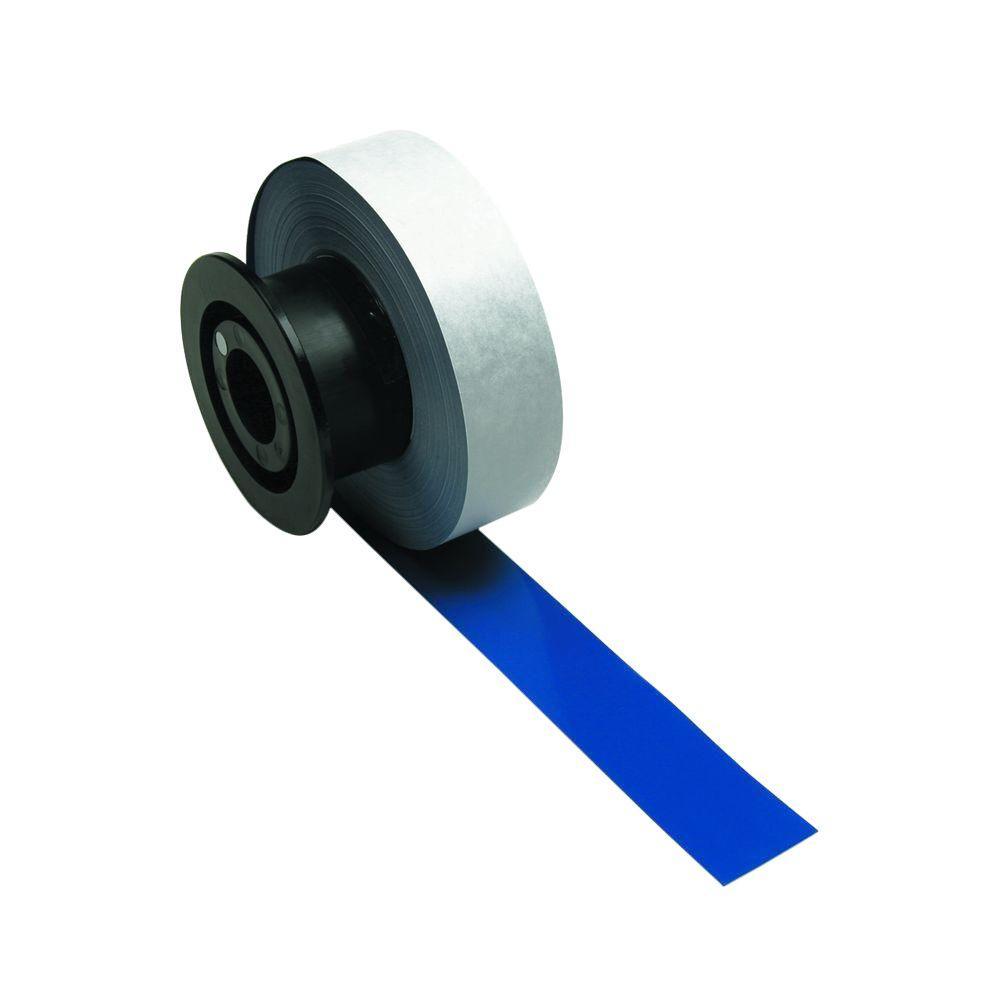 MiniMark Industrial Printer General Purpose 1.125 in. x 110 ft. Vinyl Blue Tape