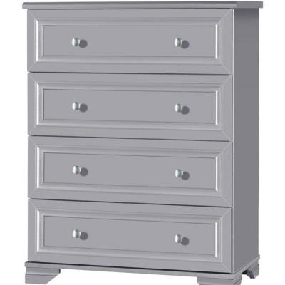 South Lake 4-Drawer Gray Chest