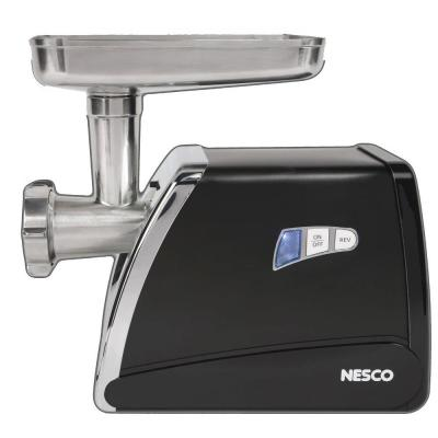 575 W 0.75 HP Stainless Steel Electric Meat Grinder with Sausage Stuffer and Food Pusher