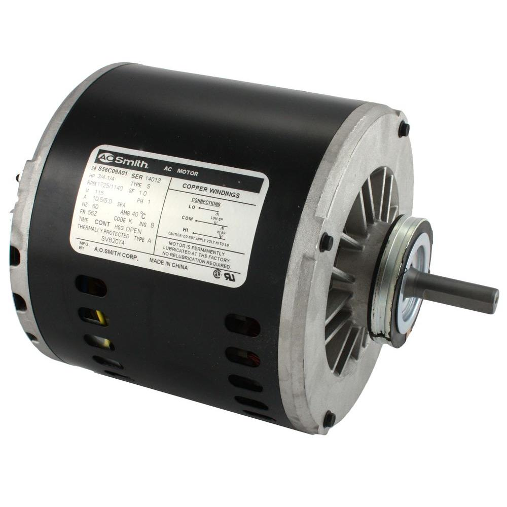 115 Volt 3/4 HP Evaporative Cooler Motor