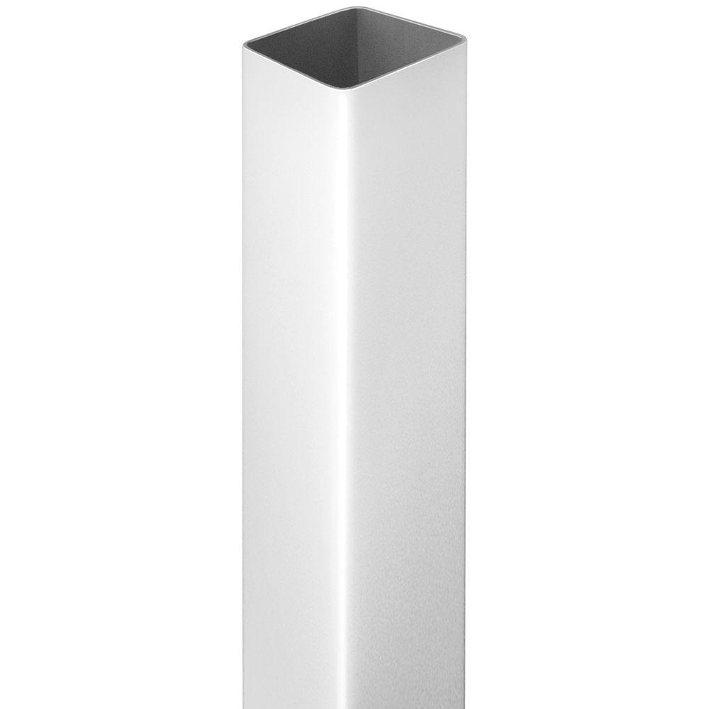 White Vinyl Square Fence