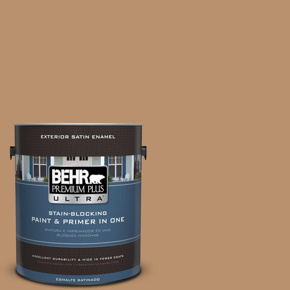 BEHR Premium Plus Ultra 1-gal. #S280-5 Windswept Leaves Satin Enamel Exterior Paint