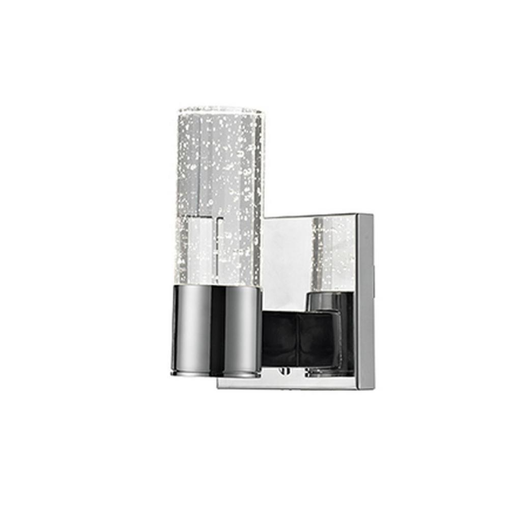 Abagail 1-Light Chrome 40-Watt Equivalence Integrated LED Bath Light