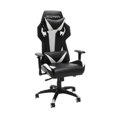 205 Racing Style Gaming Chair, in White (RSP-205-WHT)