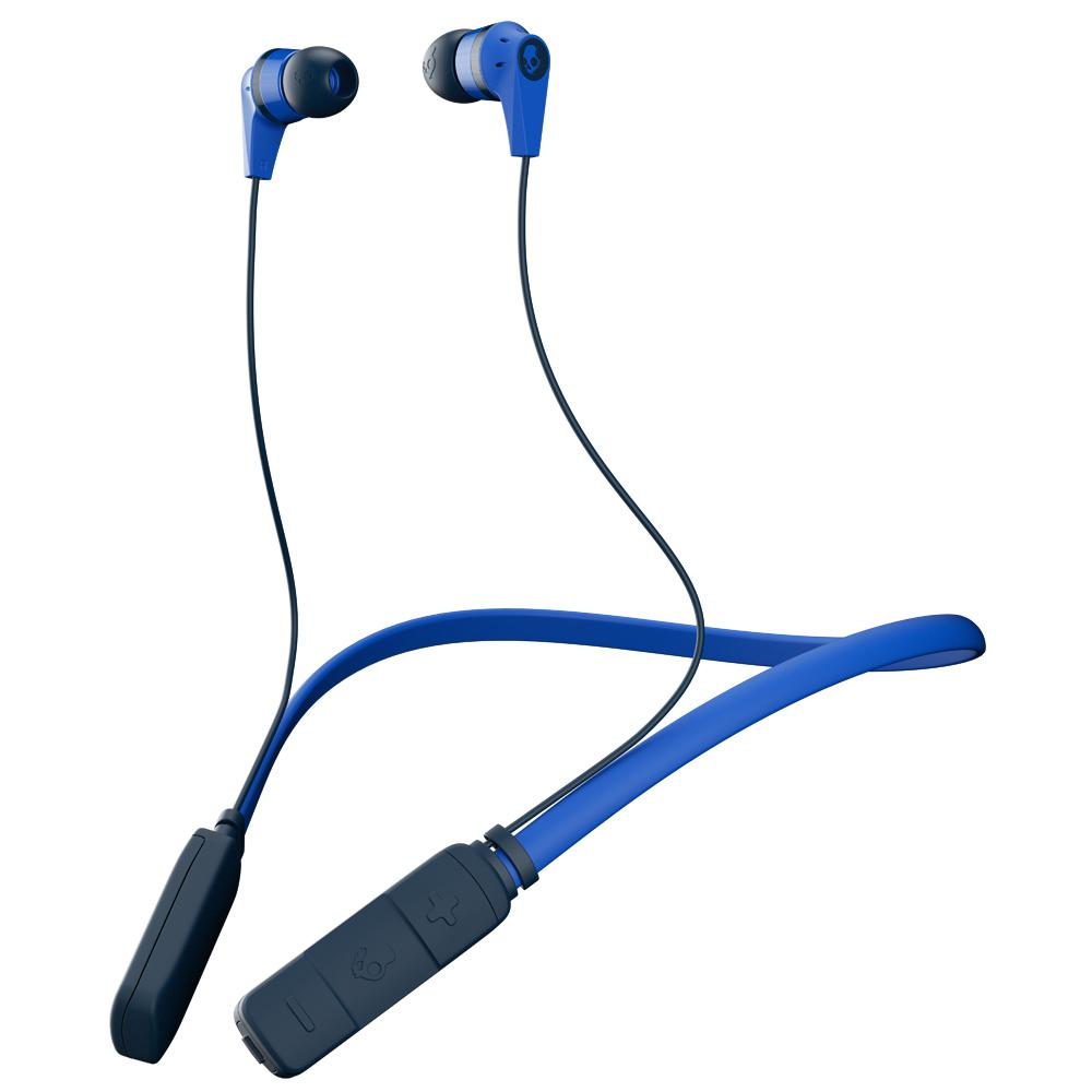 Ink'd Bluetooth Wireless Earbuds with Mic in Royal/Navy