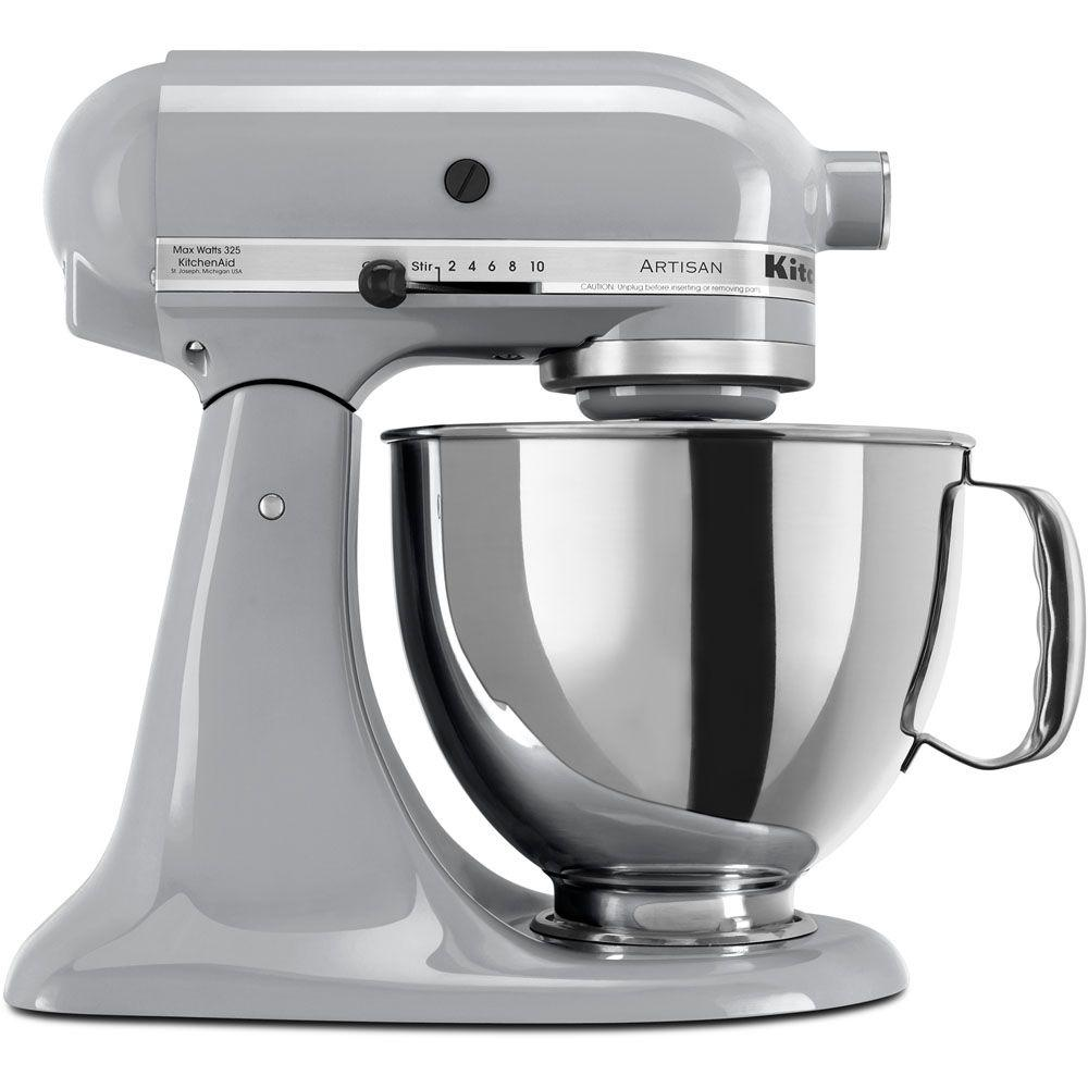 KitchenAid Artisan 5 Qt. Metallic Charcoal Stand Mixer