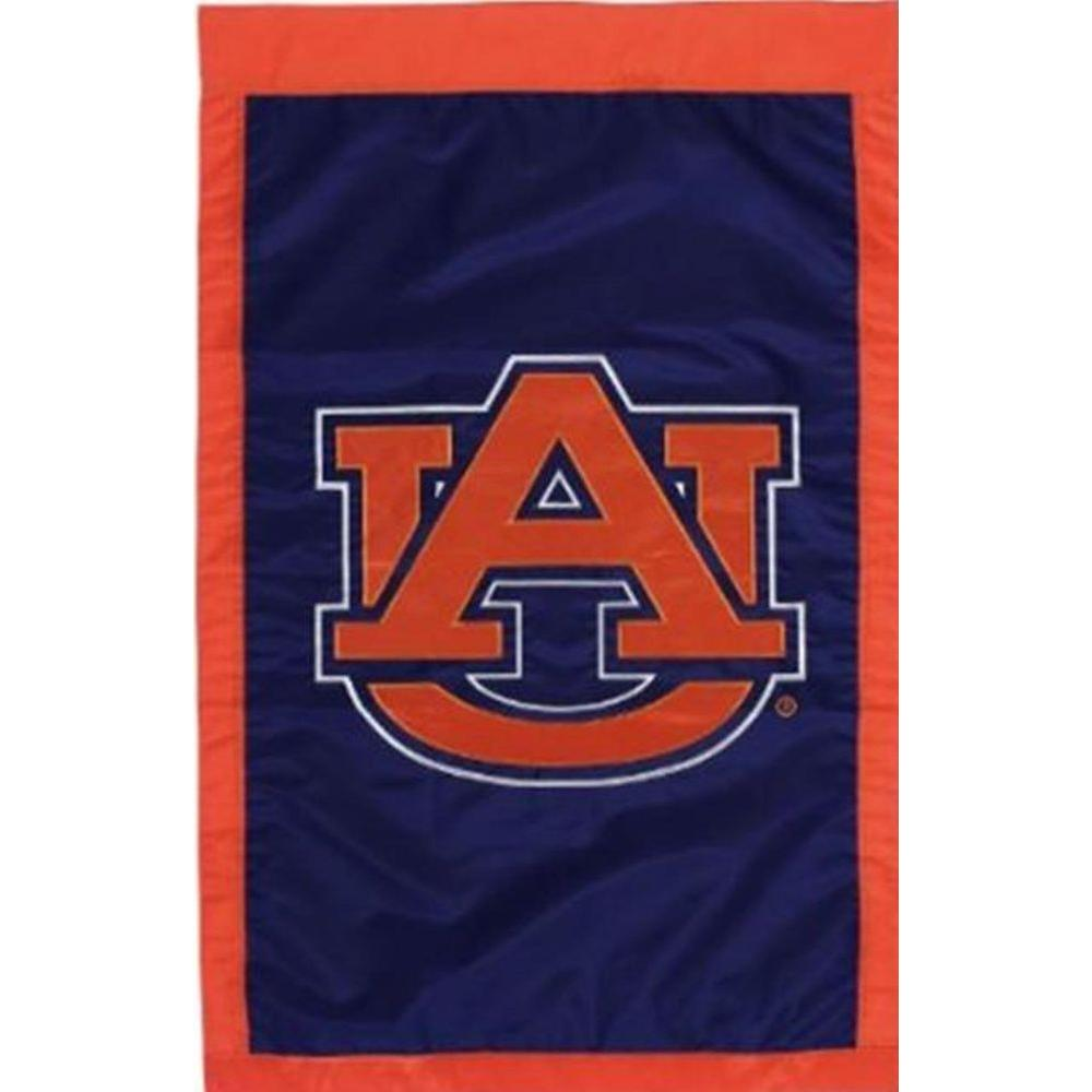 Evergreen Enterprises NCAA 12-1/2 in. x 18 in. Auburn 2-Sided Garden Flag