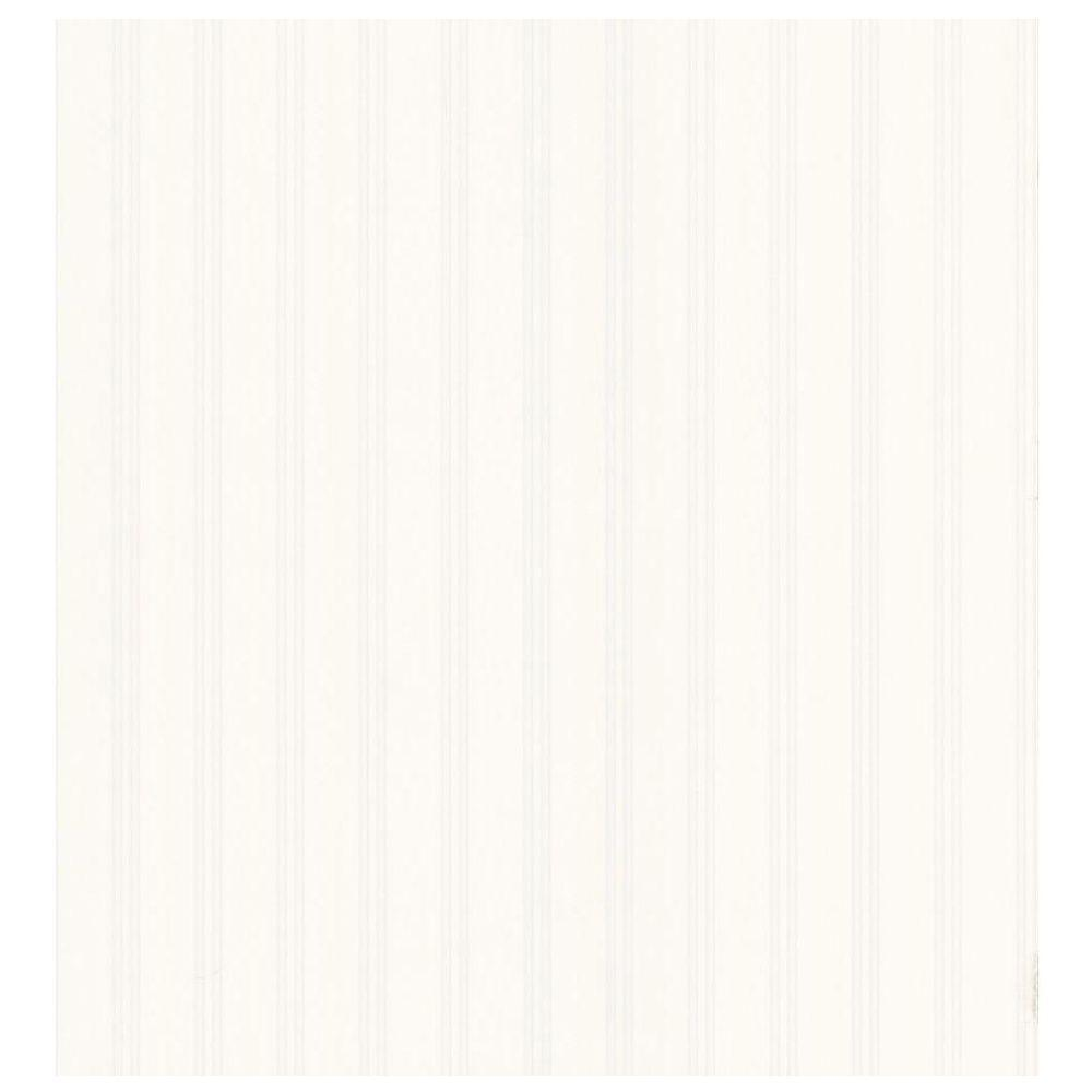 Destinations by the Shore White Beadboard Wallpaper Sample