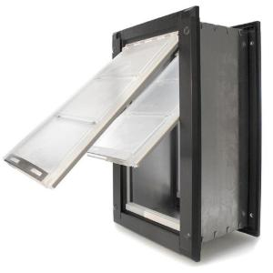 Endura Flap 12 inch x 22 inch Extra Large Double Flap for Walls with Dark Bronze... by Endura Flap
