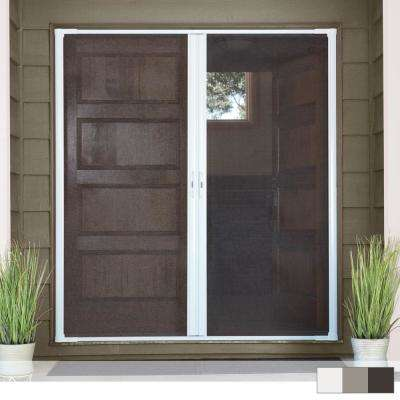 LuminAire® Double Retractable Screen Door