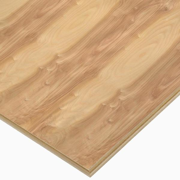 3/4 in. x 4 ft. x 4 ft. PureBond Birch Plywood Project Panel