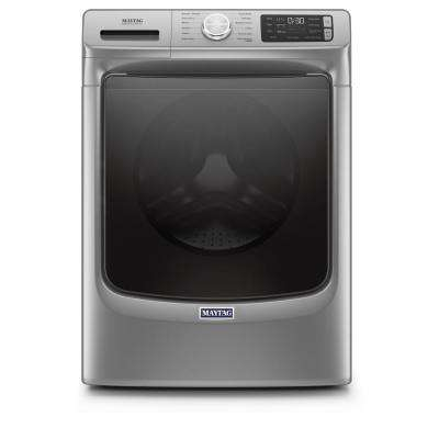 4.8 cu. ft. Metallic Slate Stackable Front Load Washing Machine with Steam and 16-Hr FRESH HOLD Option, ENERGY STAR