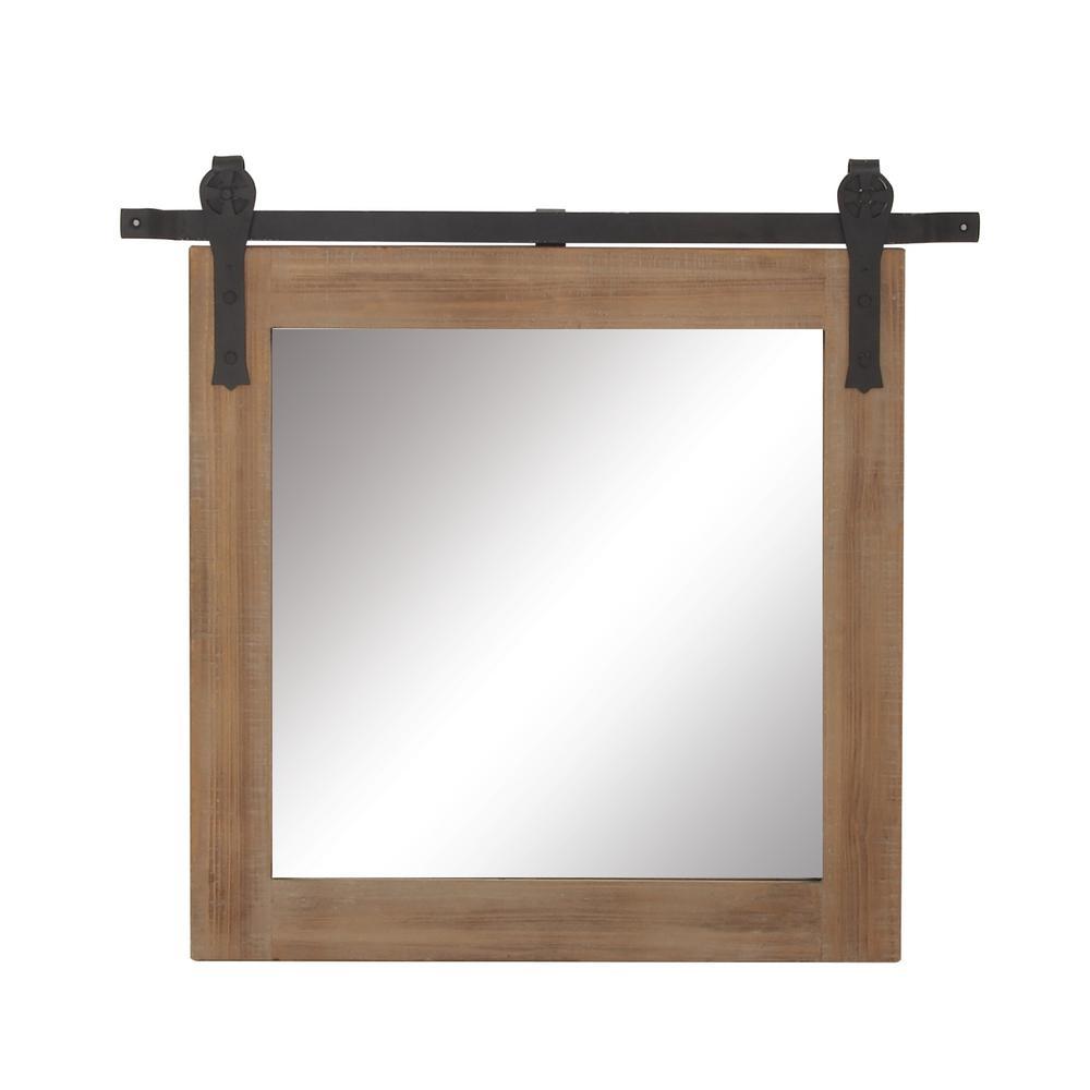 Medium Square Mirror (31 in. H x 34 in. W)