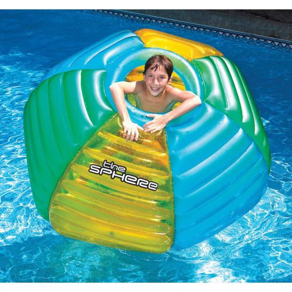 Swimline The Sphere Floating Habitat Pool Toy for Swimming Pools ...