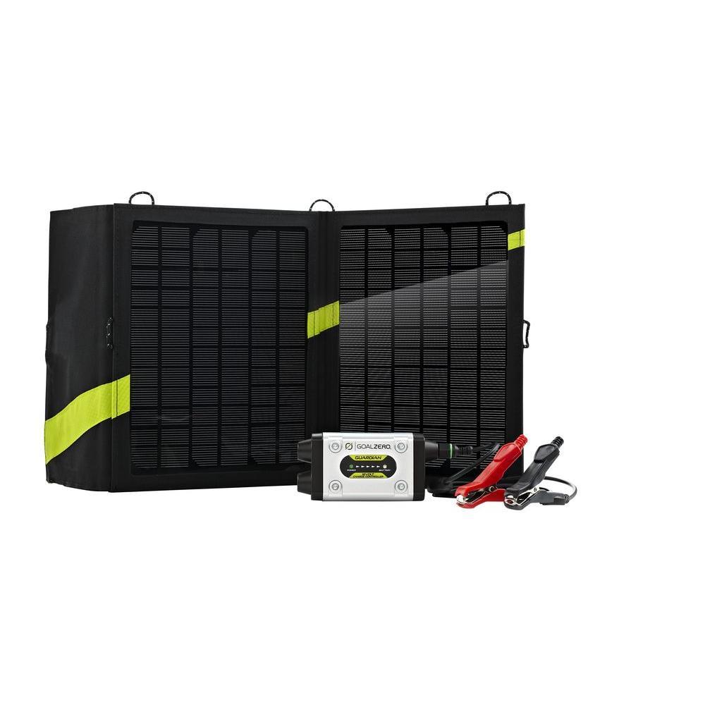 Goal Zero Guardian 13-Watt Solar Recharging Kit with Nomad