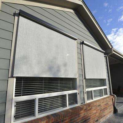 Horizontal Exterior Roll up Shade