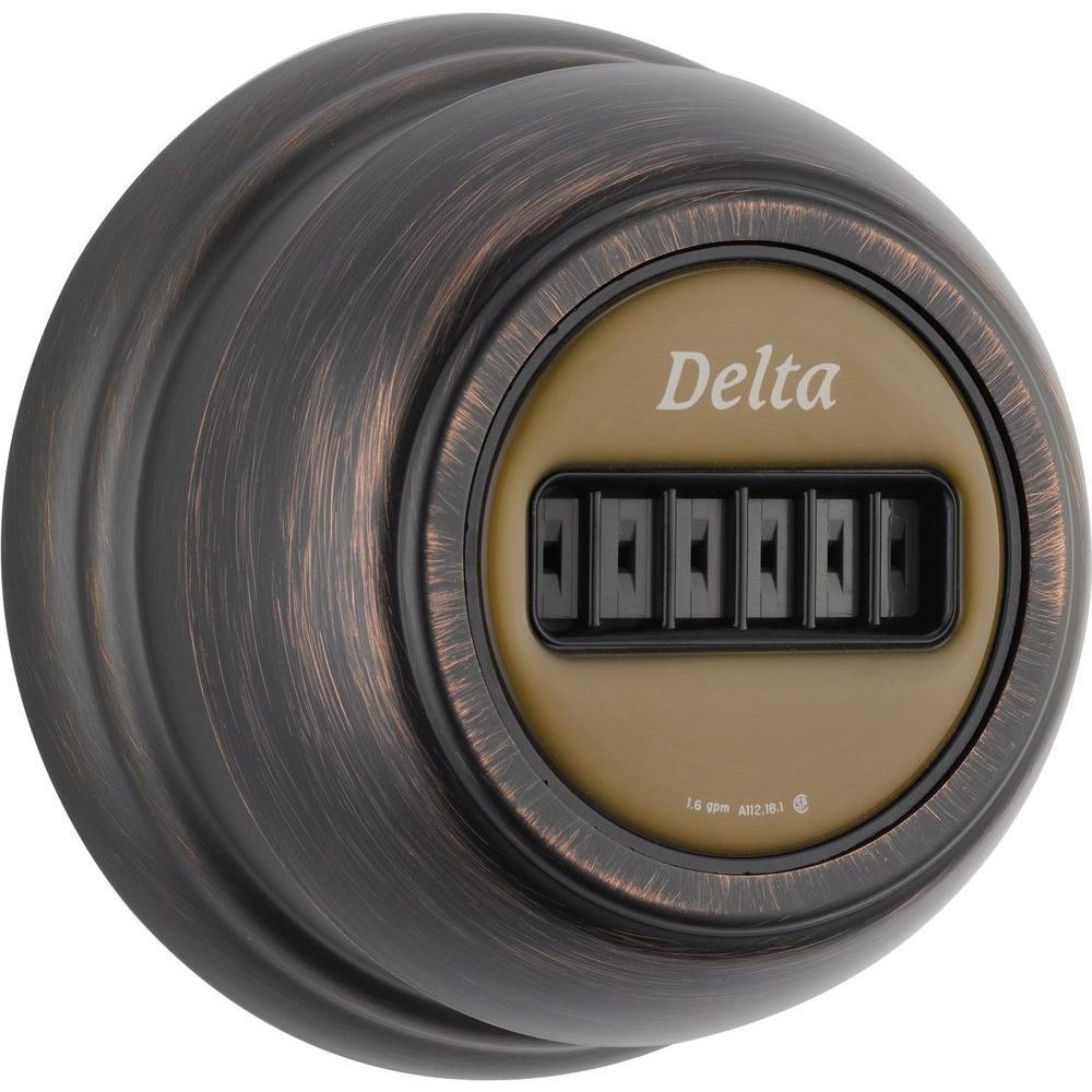 Delta Classic Body Spray/Body Jet Trim Kit Only in Venetian Bronze ...
