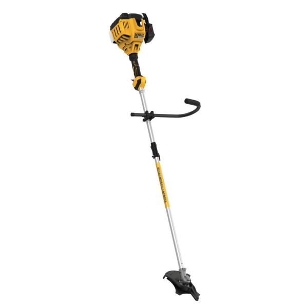 27cc 2-Cycle Gas Brushcutter with Attachment Capability
