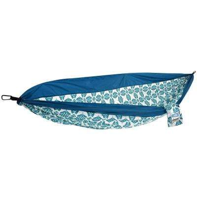 1-Person Indigo Ink Dot Travel Hammock
