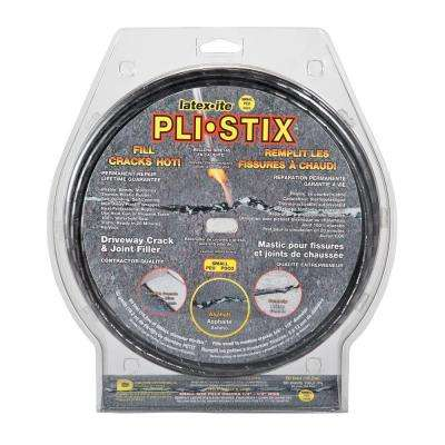 Pli-Stix 60 ft. 2.25 lb. Small Black Driveway Crack and Joint Filler