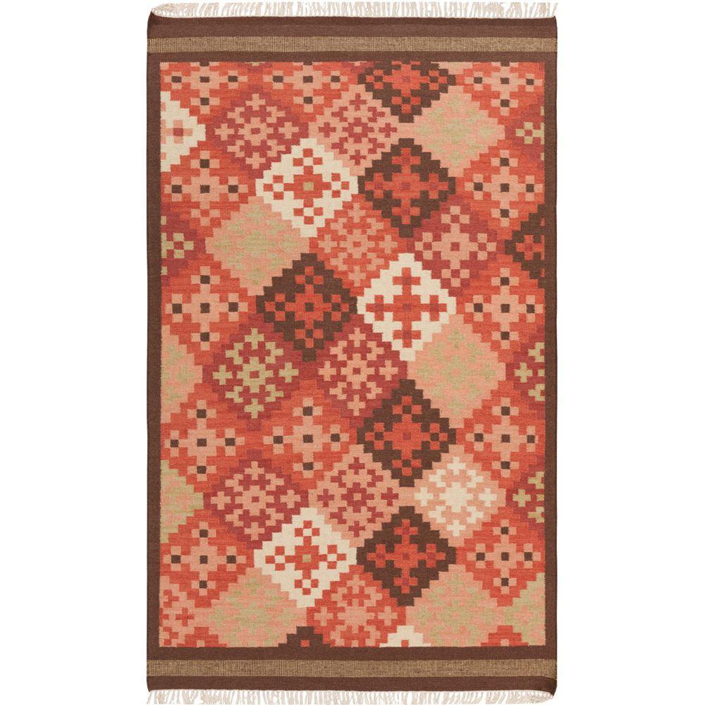 Artistic Weavers Kayero Carnelian 5 ft. x 8 ft. Flatweave Area Rug