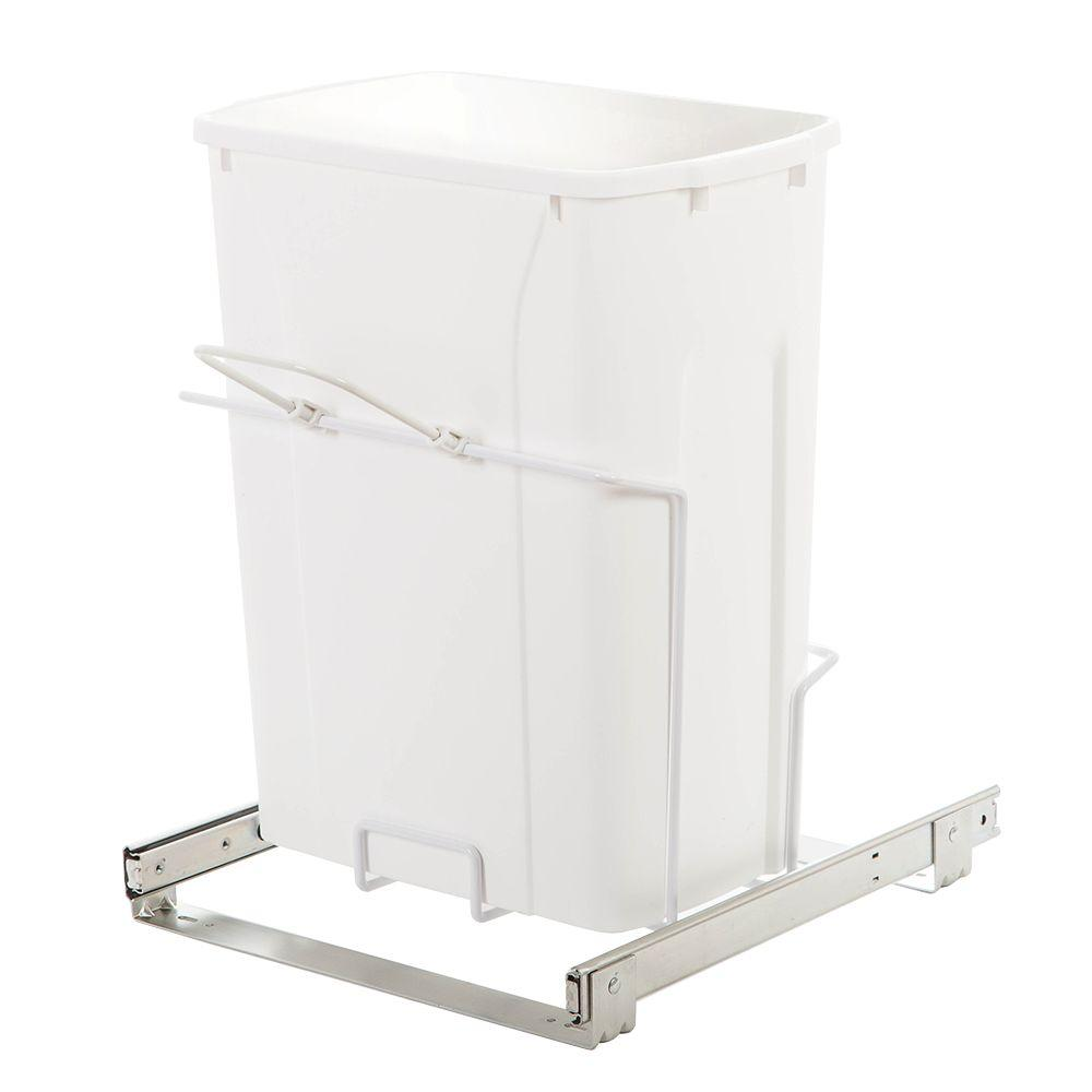 14.38 in. x 16 in. x 18.75 in. In Cabinet Pull-Out