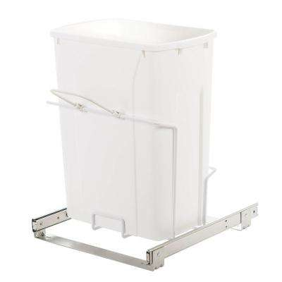 14.38 in. x 16 in. x 18.75 in. In Cabinet Pull-Out Bottom Mount Trash Can