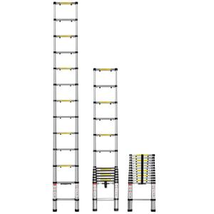Oxgord Telescoping Ladder 12 5 Ft Aluminum Extension