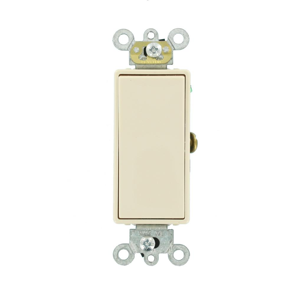 Leviton 3 Amp Decora Plus Commercial Grade Low Voltage Single Pole ...