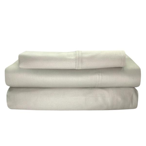 Sttelli Siesta 3 Piece Linen Cotton Twin Sheet Set