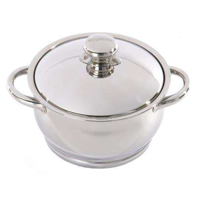 Zeno 2 Qt. 18/10 Stainless Steel Casserole with Lid