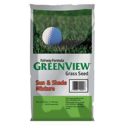 25 lb. Fairway Formula Sun and Shade Grass Seed Mixture