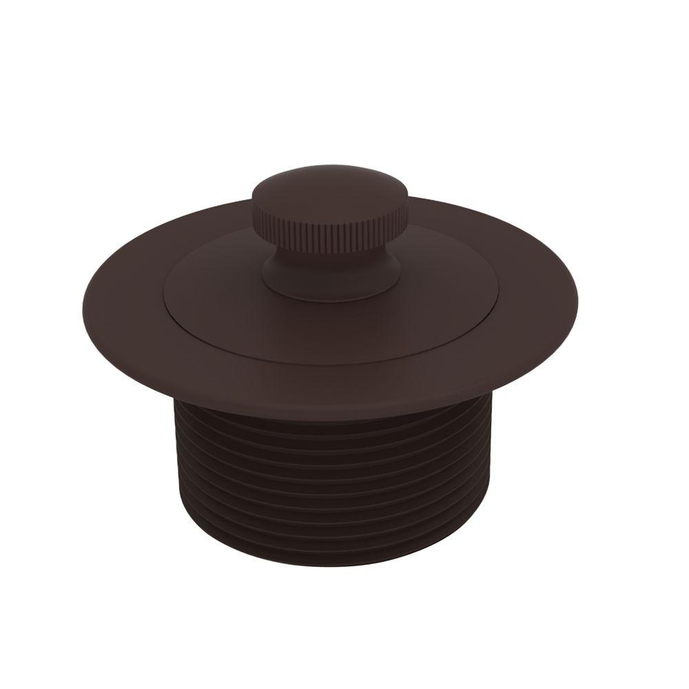 Brasstech 2-13/16 in. Lift and Turn Bath Plug in Oil Rubbed Bronze