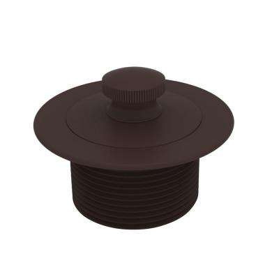 2-13/16 in. Lift and Turn Bath Plug in Oil Rubbed Bronze