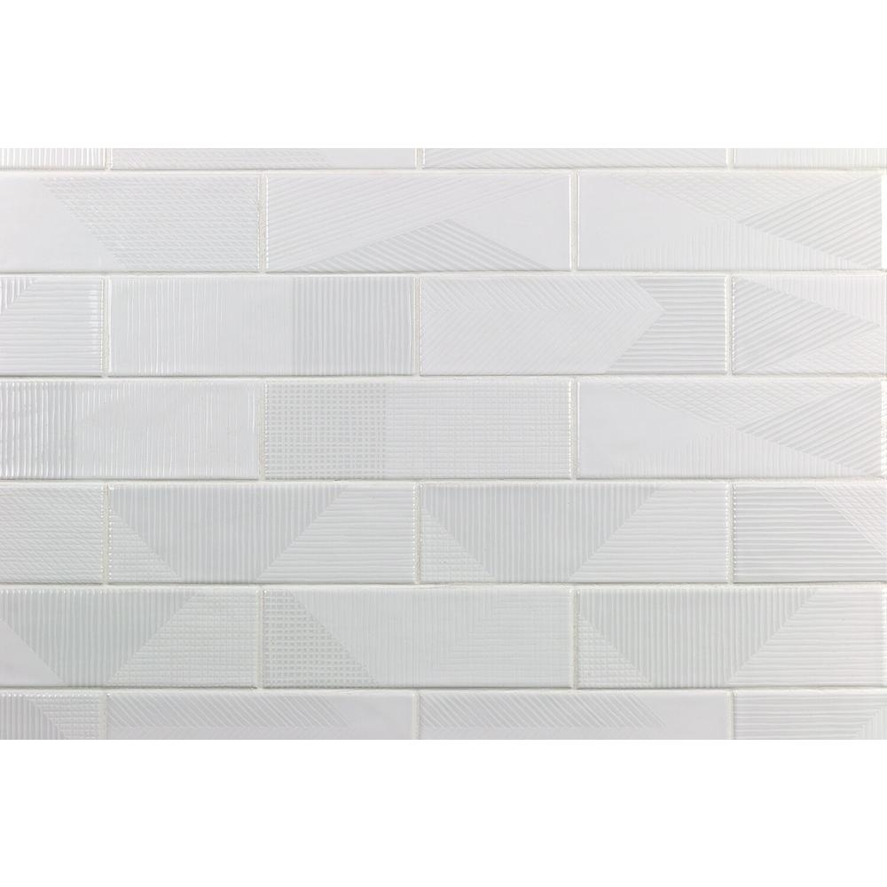 Ivy Hill Tile Ace White 2 In X 8 In X 9mm Polished